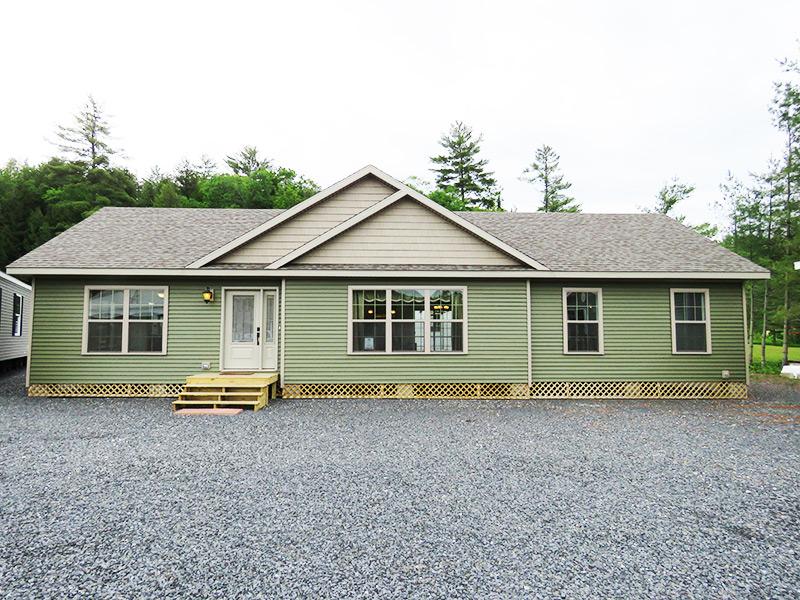 Mansfield Modular Ranch, Village Homes, Vermont