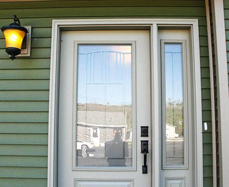 Mansfield Modular Home, Front Door