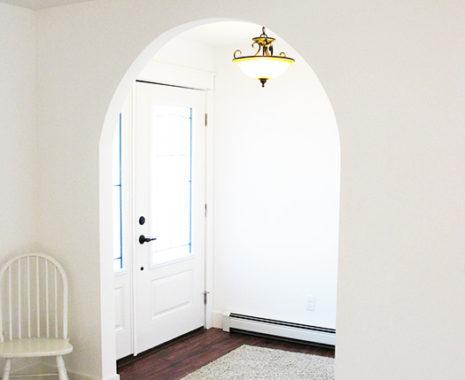 Mansfield Modular Home, Foyer