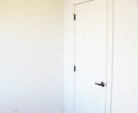 Mansfield Modular Home, Foyer Closet