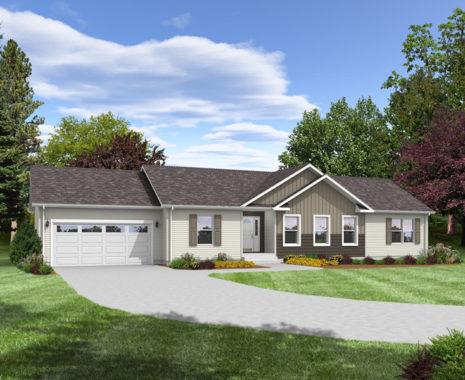 Bellisimo Modular Home, Exterior Rendering