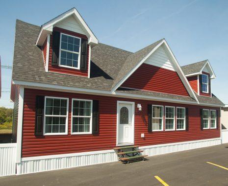 The Richland Elite, Expandable Cape Modular Home, Exterior