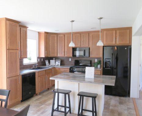 The Montgomery, Ranch Modular Home, Kitchen