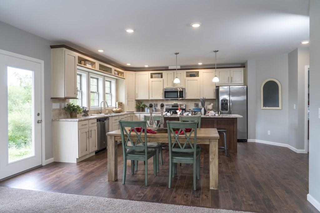 ranch modular home 31 x 54 village homes. Black Bedroom Furniture Sets. Home Design Ideas