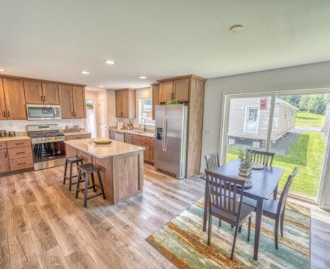 3-Stone Ridge, Ranch Modular Home, Kitchen & Nook